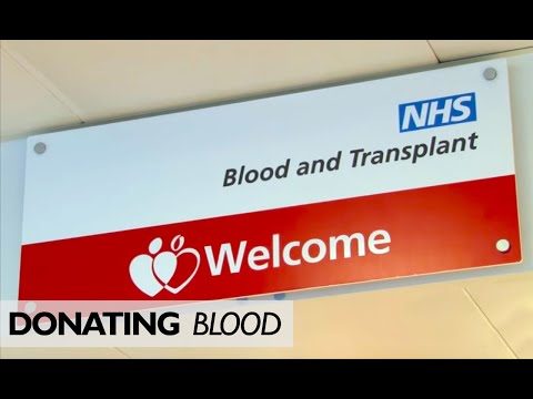 Donation Blood in London