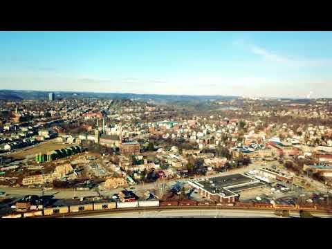 My Second Drone Flight - Shadyside, Pittsburgh