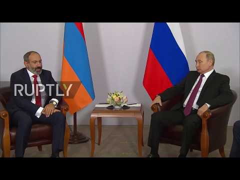 Russia: Pashinyan seeks to improve ties with Russia during first meeting with Putin