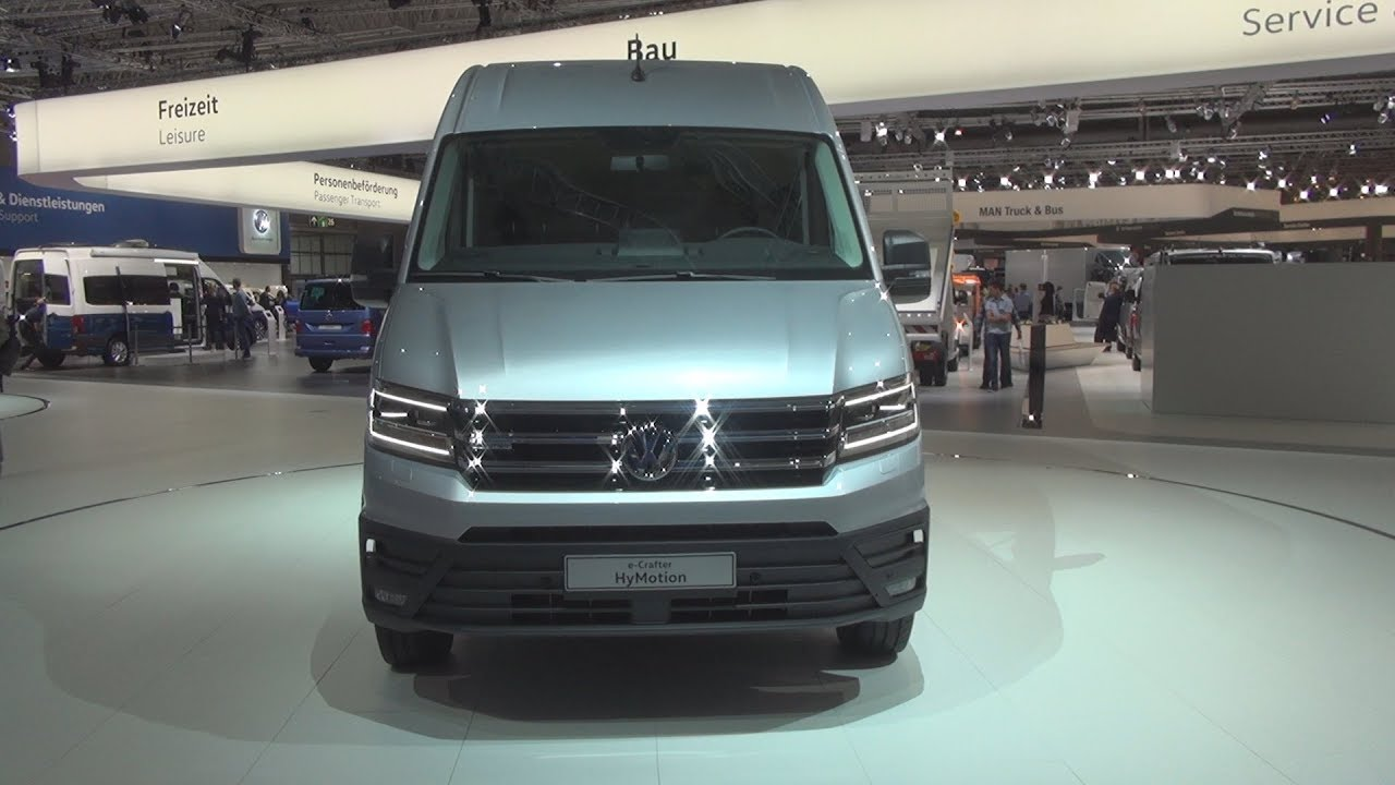 Volkswagen E Crafter Hymotion Panel Van 2019 Exterior And Interior