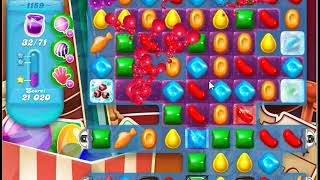 Candy Crush Soda Saga Level 1159 No Boosters