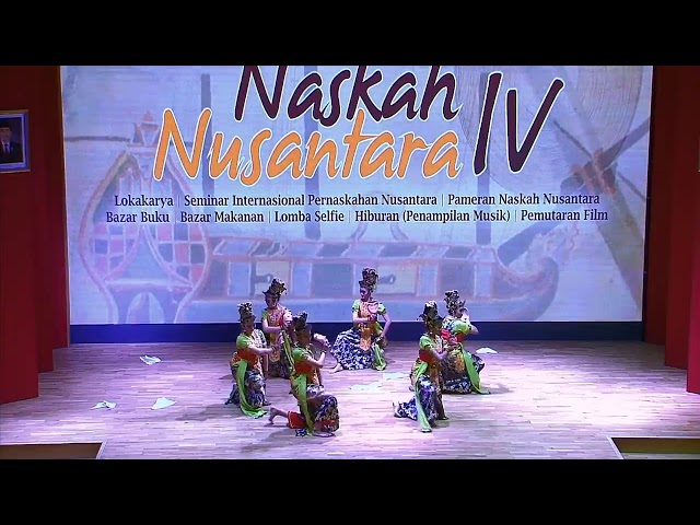Pembukaan dan keynote speaker : Festival Naskah Nusantara IV