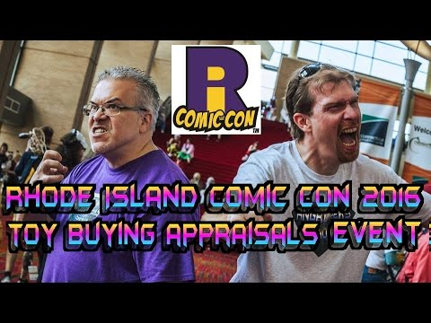Rhode Island Comic Con 2016 toy buying appraisals and Auction event,