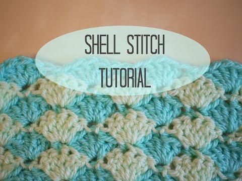 CROCHET: Shell stitch tutorial | Bella Coco