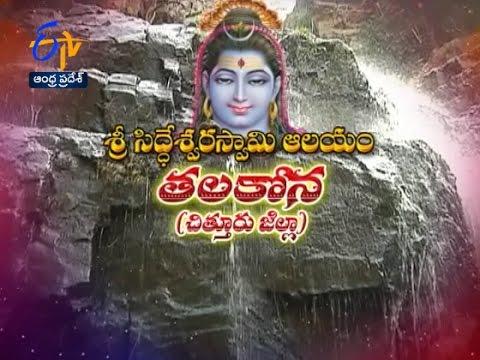 Sri Siddeswara Swami Temple | Talakona | Chittoor | Teerthayatra | 9th November 2016 | FullEP |ETVAP