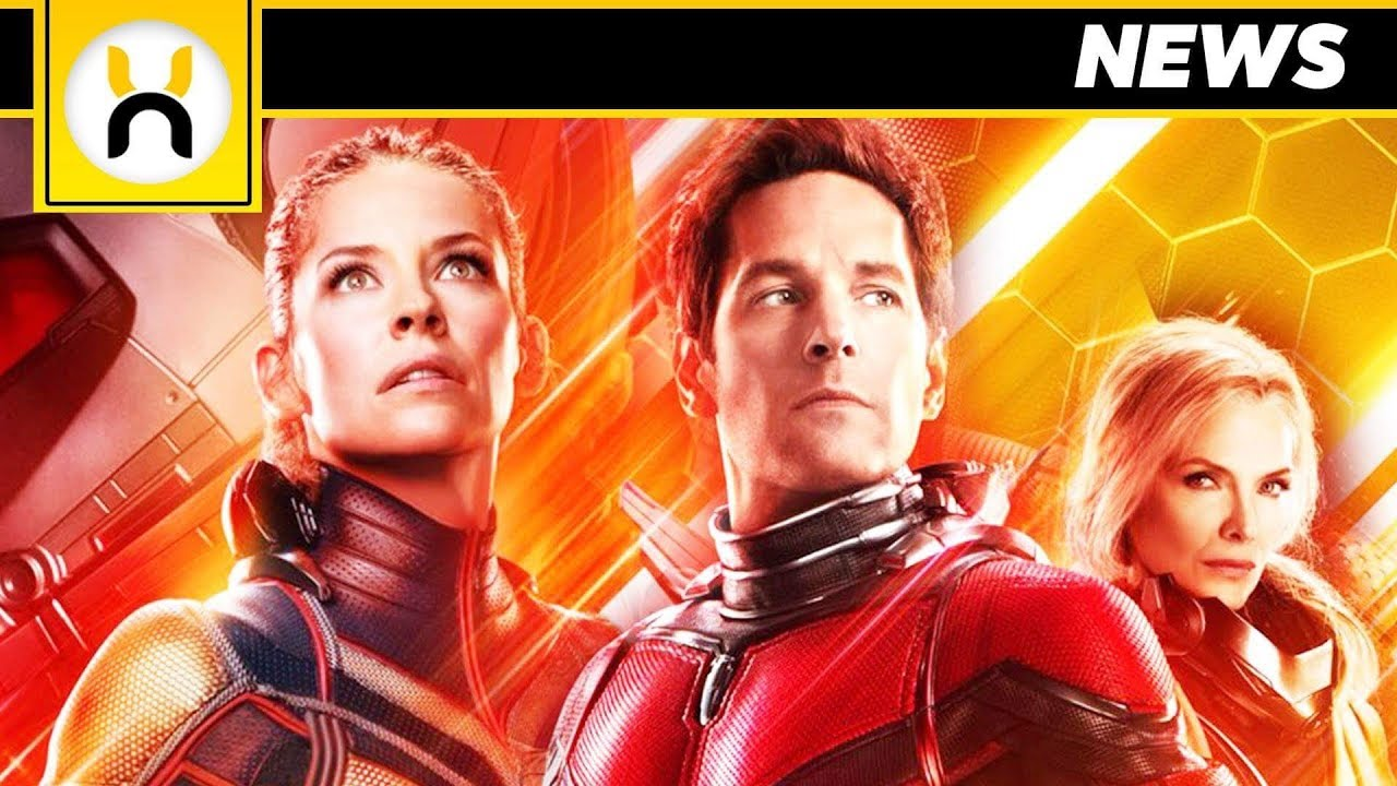 New Ant Man And The Wasp Poster Reveals Janet Van Dyne Youtube