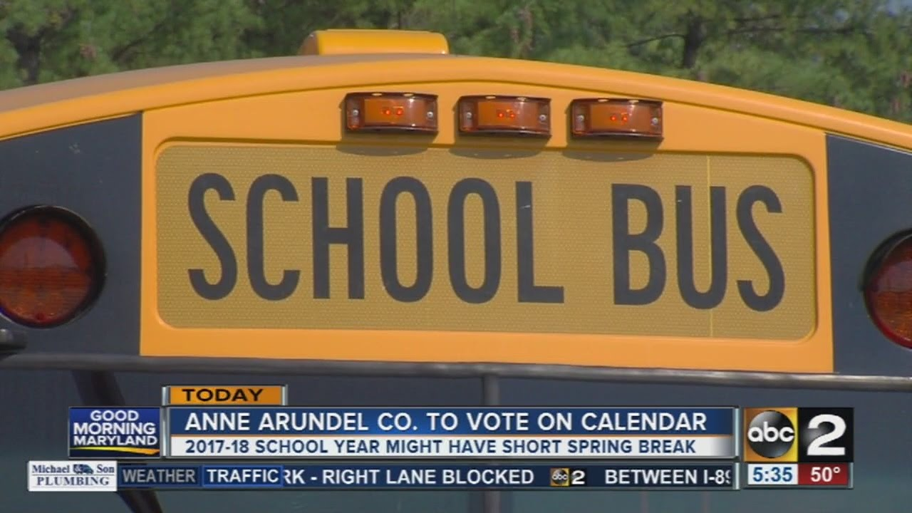 Anne Arundel School Calendar.Anne Arundel County To Vote On School Year Calendar