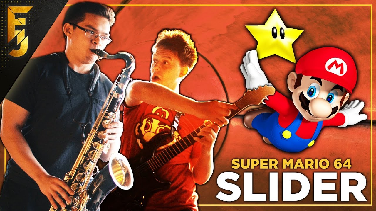 Slider - Super Mario 64 (feat  insaneintherain) | Cover by FamilyJules