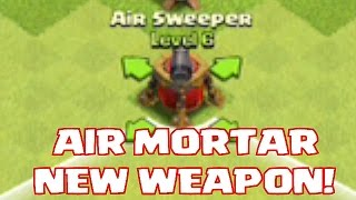 Clash Of Clans NEW AIR WEAPON!! (Edited Version)