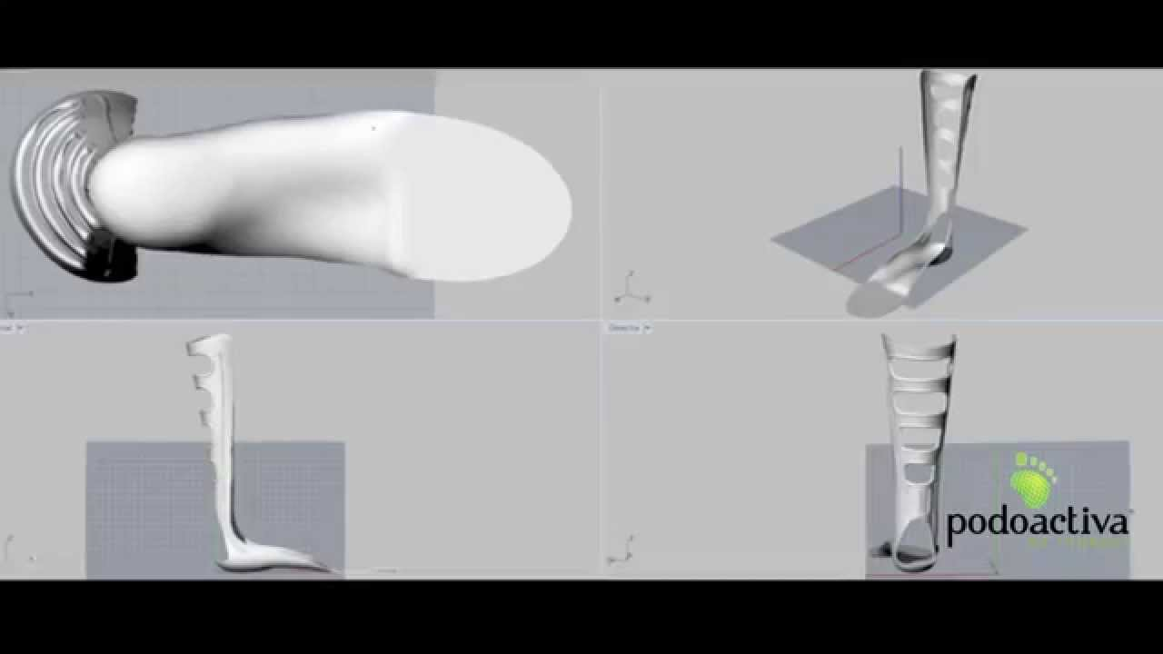 Férula antiequino diseño virtual by Podoactiva d268c0ce577e