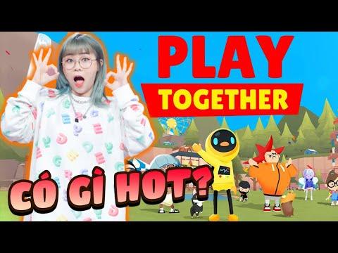 Play Together |  Misthy lần đầu khám phá tựa game hot nhất hiện nay PLAY TOGERTHER #1