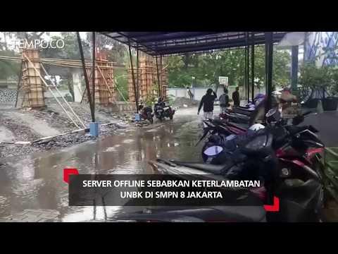 Server Offline Sebabkan Keterlambatan UNBK Di SMPN 8 Jakarta