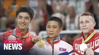 Rio 2016: N. Korean gymnast Ri Se-gwang wins gold in men's vault