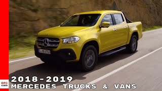 2018-2019 Mercedes Truck & Van Commercial Vehicles thumbnail