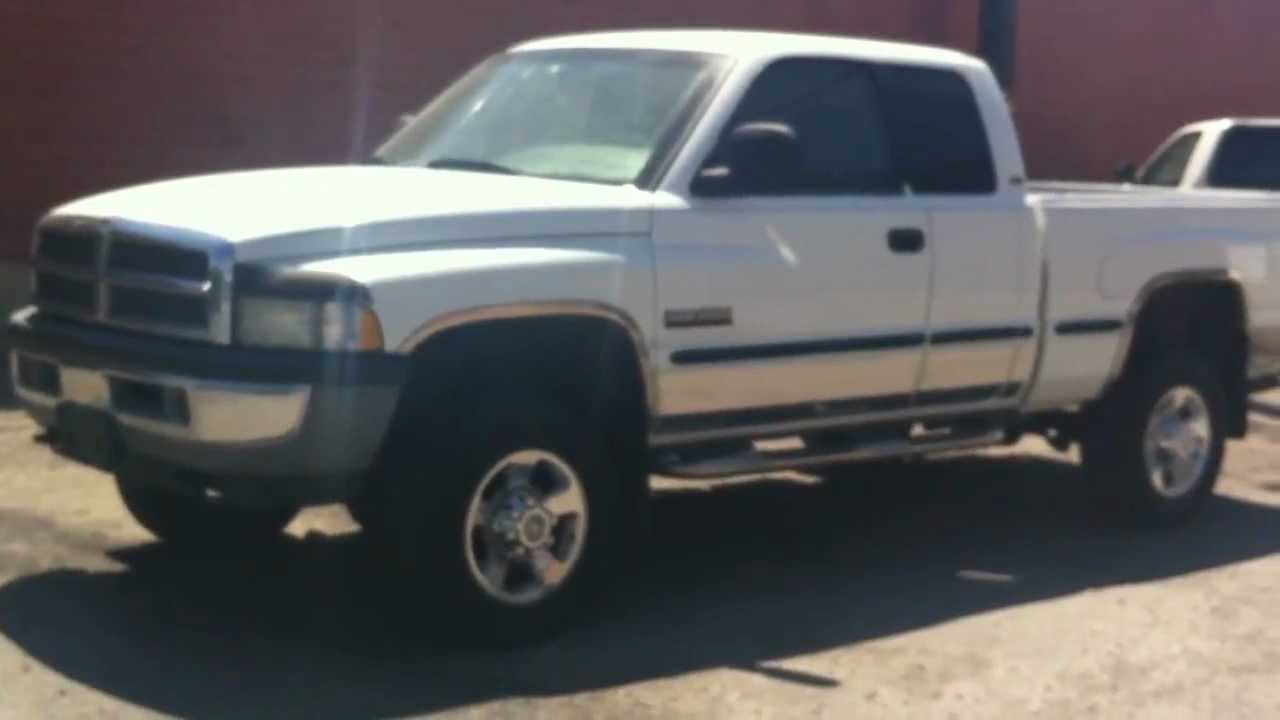 1998 dodge ram 2500 224k 24v cummins diesel for sale youtube. Black Bedroom Furniture Sets. Home Design Ideas