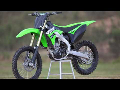Kawasaki KX250F 2011 ride preview - YouTube
