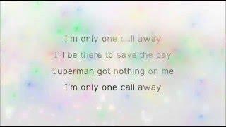 One Call Away -Charlie Puth instrumental with lyrics(no vocals)