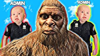 When SALTY KID ADMINS mess with MONKEY MAN... GTA 5 RP
