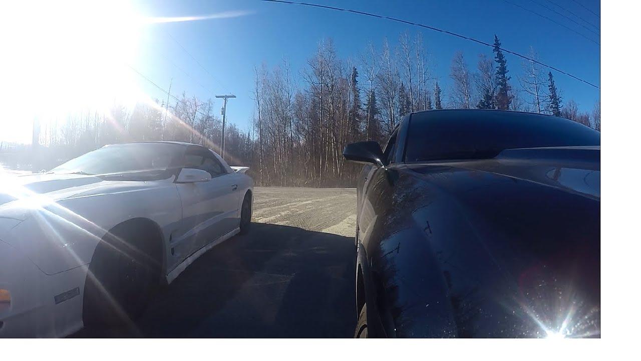 Camaro SS vs Trans Am WS6 Street Race - YouTube