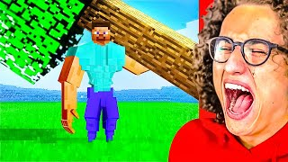 YOU LAUGH = NEVER PLAY MINECRAFT AGAIN Animation Challenge!