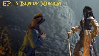 Piratas del Caribe La leyenda de Jack Sparrow [PS2] EP. 15 Isla de muerta