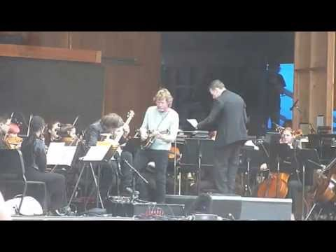 Bela Fleck and Sam Bush Play With The Colorado Symphy at Telluride Bluegrass Fest 2014