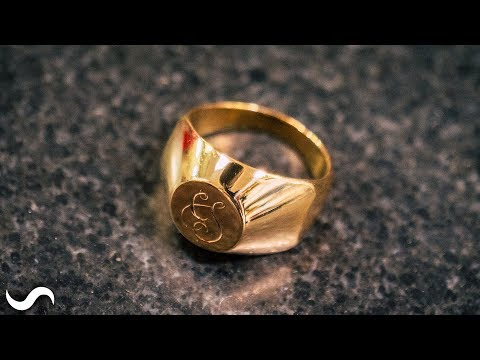 making-a-signet-ring-in-18k-gold!!!