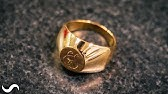 MAKING A SIGNET RING IN 18K GOLD!!!