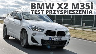 BMW X2 M35i 2.0 306 KM (AT) - acceleration 0-100 km/h