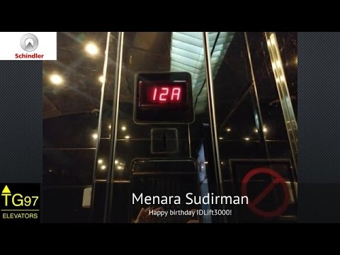 Schindler Traction Lifts - Menara Sudirman, Jakarta