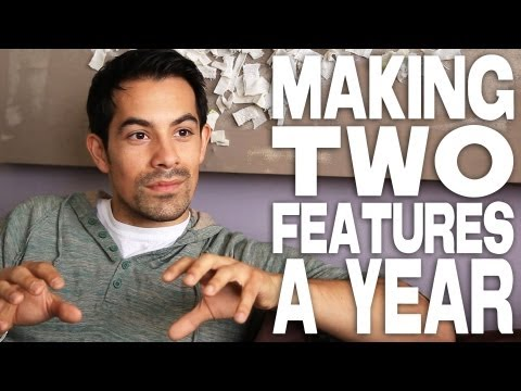 Making Two Feature Films A Year by Ace Marrero