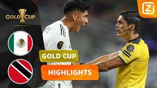 DE VAR GOOIT ROET IN HET ETEN! 😖   Mexico vs Trinidad   CONCACAF Gold Cup 2021