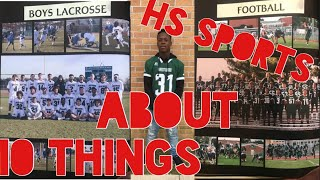 IF YOU PLAY SPORTS YOU NEED TO WATCH THIS!! (10tips on playing hs sports)