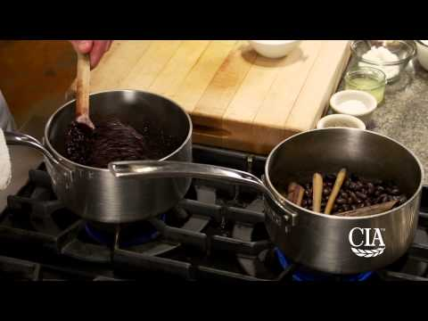 Black Bean and Black Rice Pudding with Coconut