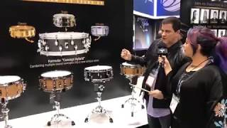 Russ Miller Interview at NAMM 18 on Drum Talk TV