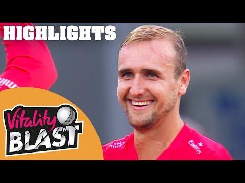 Livingstone Lights Up Leicester | Leics v Lancs | Vitality Blast 2018 - Highlights