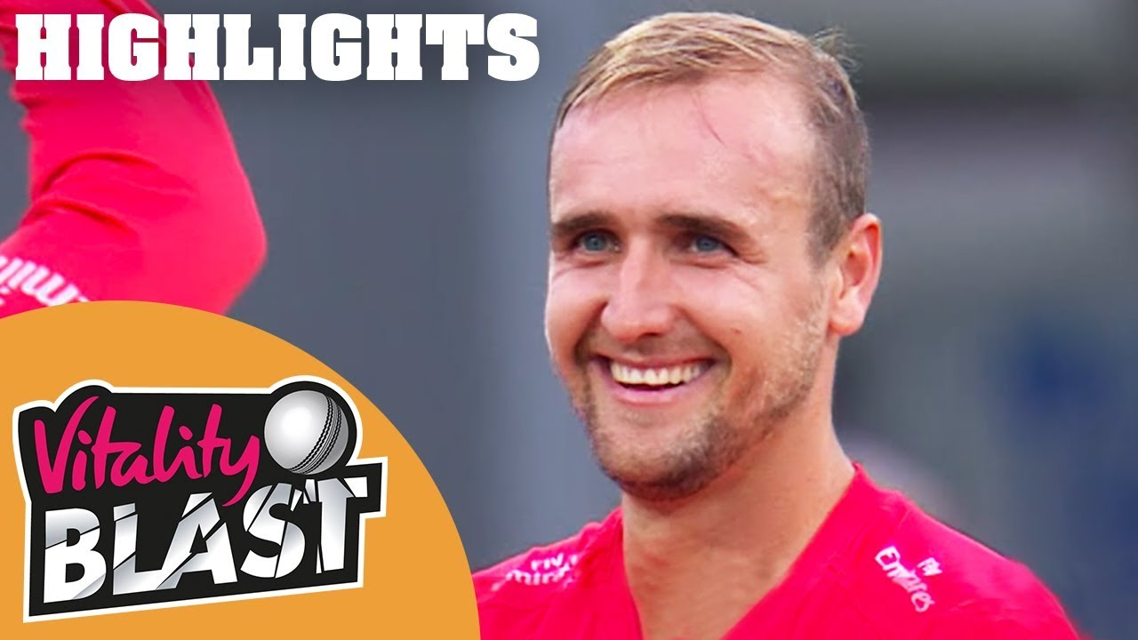 Livingstone Lights Up Leicester   Leics v Lancs   Vitality Blast 2018 - Highlights
