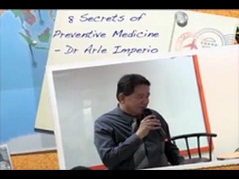 8 Secrets of Preventive Medicine Dr Arle Imperio