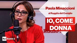 Paola Minaccioni, come donna, intervistata al Ruggito del Coniglio
