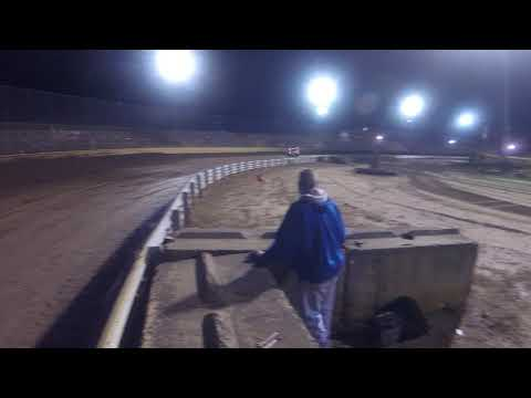 An insanely fast heat race at New Egypt Speedway's All Star Race