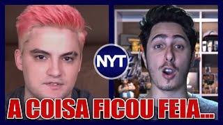 Felipe Neto e Castanhari se envolvem na maior TRETA do ANO! YouTubers também comentaram a BRIGA