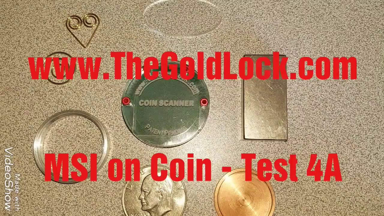 Gold//Silver Scanner-See Inside Coins-Protection from Counterfiets