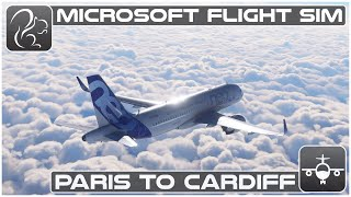 Paris to Cardiff  Microsoft Flight Simulator  Airbus A320neo (LFPGEGFF)