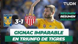Resumen Tigres 3 - 1 Necaxa | Apertura 2019 - Jornada 4 | TUDN