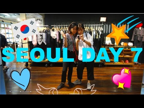 Seoul Day 7 : Our last!
