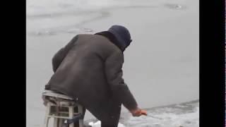 Річка Кия. Самотній рибалка.