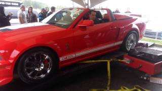 Shelby GT500 Blows Up Dyno