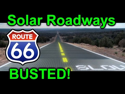 EEVblog #902 - Solar Roadways Route 66 BUSTED!
