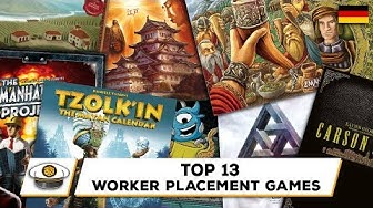 Top 13 Worker Placement Brettspiele (deutsch)
