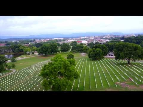 Chattanooga National Cemetery: Aerial Videography